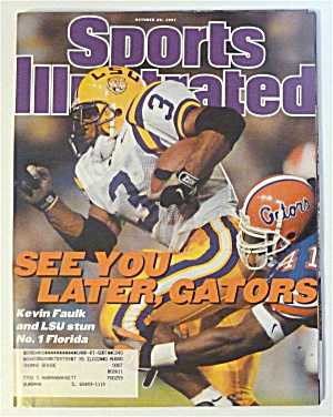 Sports Illustrated Magazine-Oct 20, 1997-Kevin Faulk (Image1)