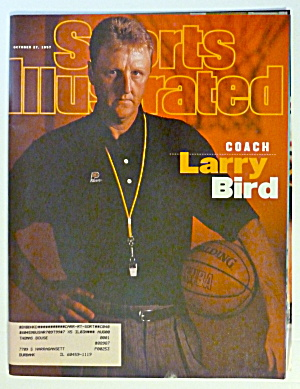 Sports Illustrated Magazine-October 27, 1997-Larry Bird (Image1)