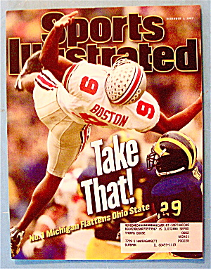Sports Illustrated Magazine-December 1, 1997-Mich/Ohio (Image1)