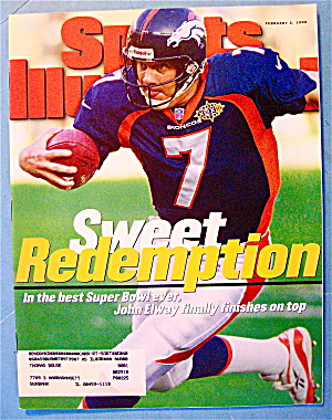 Sports Illustrated Magazine-February 2, 1998-John Elway (Image1)