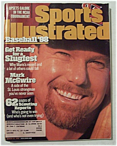 Sports Illustrated Magazine-March 23, 1998-Mark McGwire (Image1)