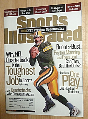 Sports Illustrated Magazine-August 17, 1998-NFL Preview (Image1)