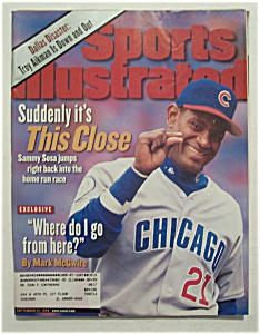 Sports Illustrated Magazine-September 21, 1998-Sam Sosa (Image1)