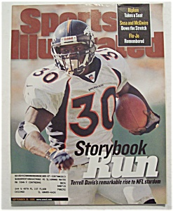 Sports Illustrated Magazine-September 28, 1998-T Davis (Image1)