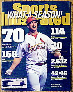 Sports Illustrated-October 5, 1998-Mark McGwire (Image1)