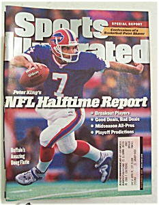 Sports Illustrated Magazine-November 9, 1998-NFL (Image1)