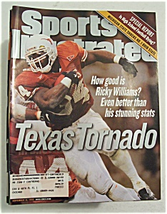 Sports Illustrated Magazine-November 16, 1998-Texas (Image1)