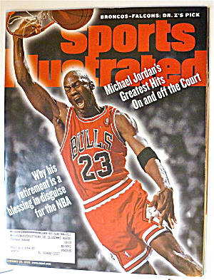 Sports Illustrated-January 25, 1999-Michael Jordan (Image1)