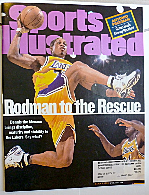 Sports Illustrated Magazine-March 8, 1999-Dennis Rodman (Image1)