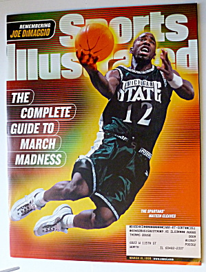 Sports Illustrated Magazine-March 15, 1999-Spartans (Image1)