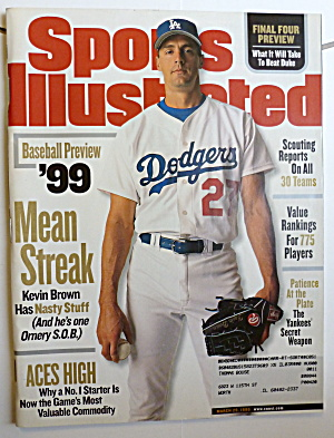 Sports Illustrated Magazine-March 29, 1999-Kevin Brown (Image1)