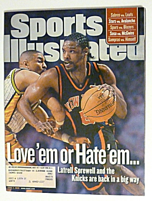 Sports Illustrated Magazine -June 7, 1999- L. Sprewell (Image1)