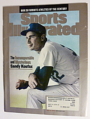 Sports Illustrated Magazine-July 12, 1999-Sandy Koufax (Image1)