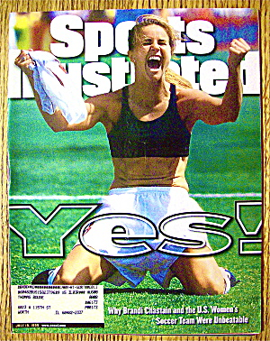 Sports Illustrated Magazine-July 19, 1999-B. Chastain (Image1)