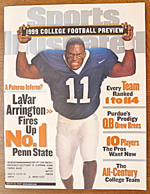 Sports Illustrated Magazine-August 16, 1999-LaVar A. (Image1)