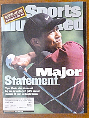 Sports Illustrated Magazine-August 23, 1999-Tiger Woods (Image1)