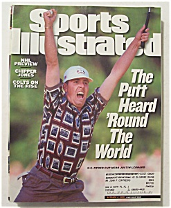 Sports Illustrated Magazine-Oct 4, 1999-Justin Leonard (Image1)