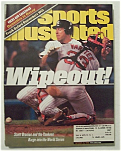 Sports Illustrated Magazine-oct 25, 1999-scott Brosius