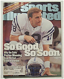 Sports Illustrated Magazine-Nov 22, 1999-Peyton Manning (Image1)