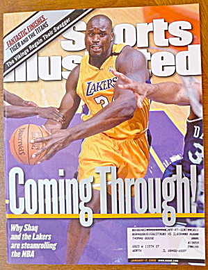 Sports Illustrated Magazine-January 17, 2000-Shaquille (Image1)