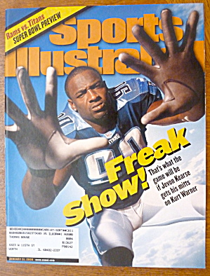Sports Illustrated Magazine-Jan 31, 2000-Jevon Kearse (Image1)