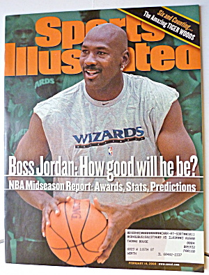 Sports Illustrated-February 14, 2000-Michael Jordan (Image1)