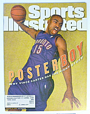 Sports Illustrated Magazine-Feb 28, 2000-Vince Carter (Image1)