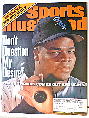 Sports Illustrated Magazine-March 13, 2000-Frank Thomas (Image1)