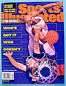 Sports Illustrated Magazine-March 20, 2000-Marcus Fizer (Image1)