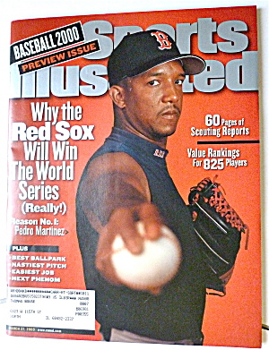 Sports Illustrated Magazine-March 27, 2000-P. Martinez (Image1)