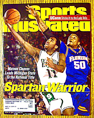 Sports Illustrated Magazine-april 10, 2000-m. Cleaves