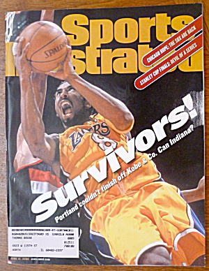 Sports Illustrated Magazine-June 12, 2000-Kobe Bryant (Image1)