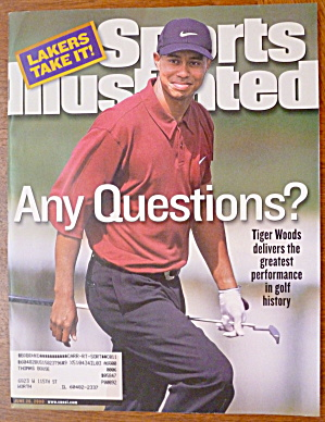 Sports Illustrated Magazine-June 26, 2000-Tiger Woods (Image1)