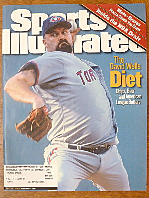 Sports Illustrated Magazine -July 10, 2000- David Wells (Image1)