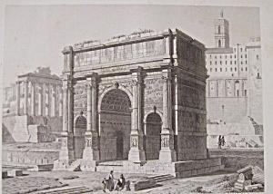 Arc De Septime Severe A Rome (Image1)