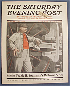 Saturday Evening Post Magazine - January 16, 1904