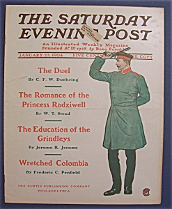 Saturday Evening Post Magazine - January 23, 1904