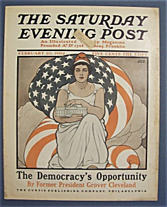 Saturday  Evening  Post  Magazine - February 20, 1904 (Image1)