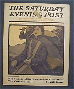 Saturday  Evening  Post  Magazine - October 7, 1905 (Image1)