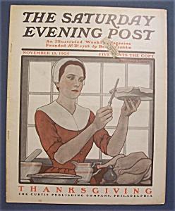 Saturday  Evening  Post  Magazine - November 18, 1905 (Image1)