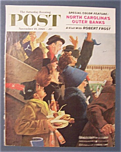 Saturday Evening Post Cover By Hughes - Nov 19, 1960