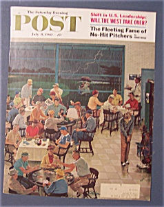 Saturday Evening Post Cover By Prins -july 8, 1961