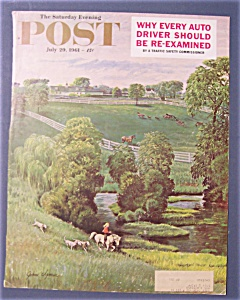 Saturday Evening Post Cover-clymer-july 29, 1961 (Farm)