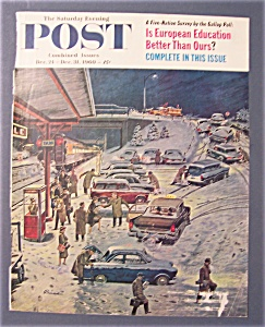 Saturday Evening Post Cover / Prins/dec 24-dec 31, 1960
