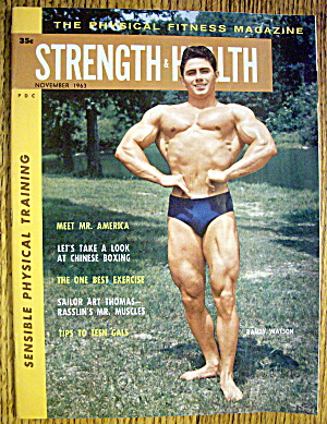 Strength & Health Magazine-november 1963-randy Watson