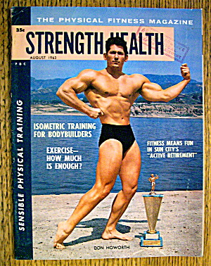 Strength & Health Magazine-august 1963-don Howorth