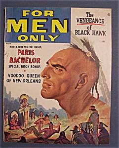 Vintage For Men Only Magazine - November 1956 (Image1)