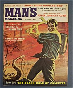 Vintage Man's Magazine - December 1956 (Image1)