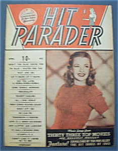 Hit Parader Magazine - April 1946
