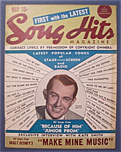 Song Hits Magazine - May 1946 - Vaughn Monroe Cover